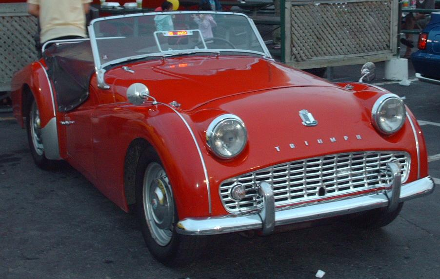 Triumph tr3a photo - 3