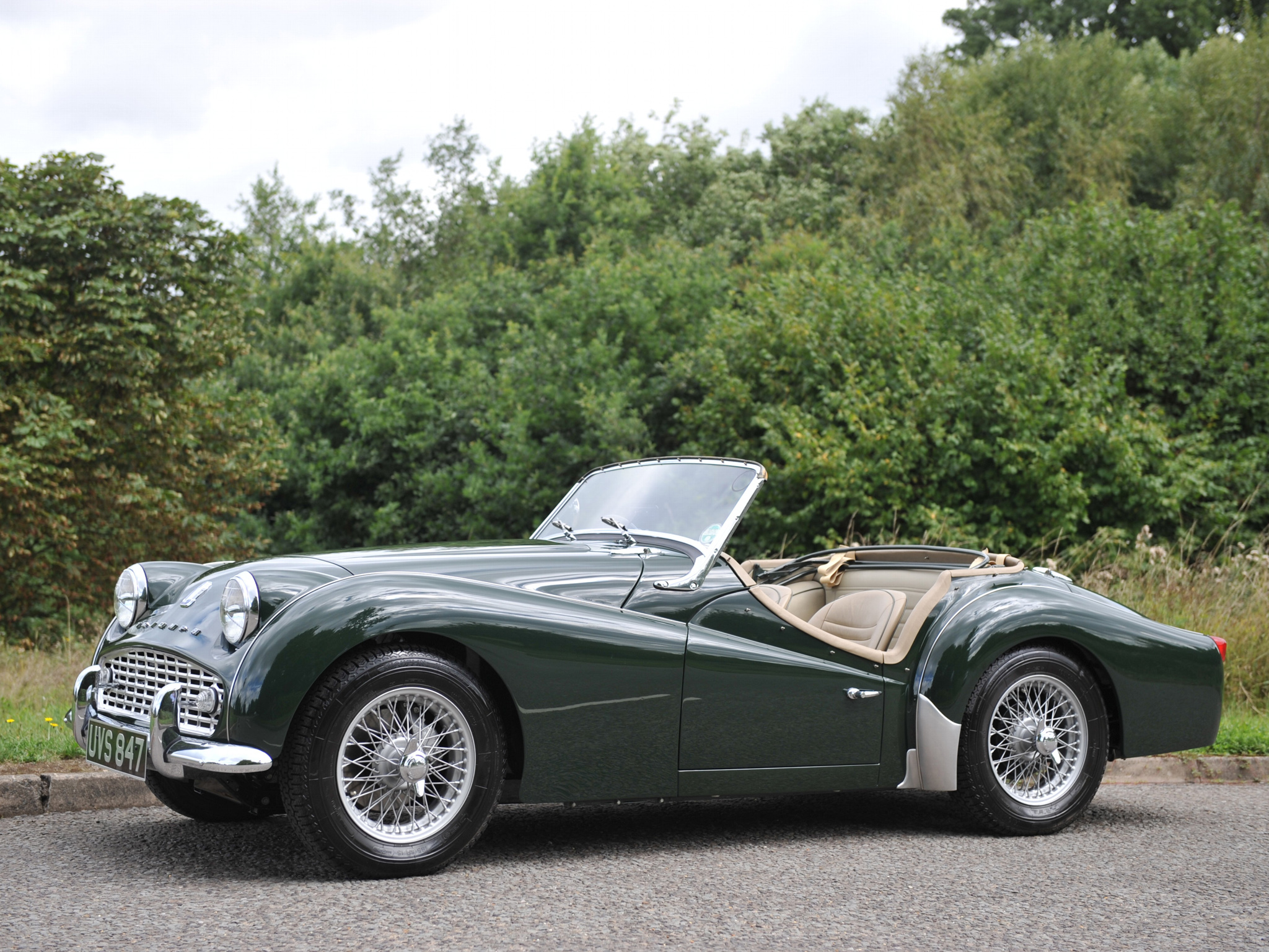 Triumph tr3a photo - 4