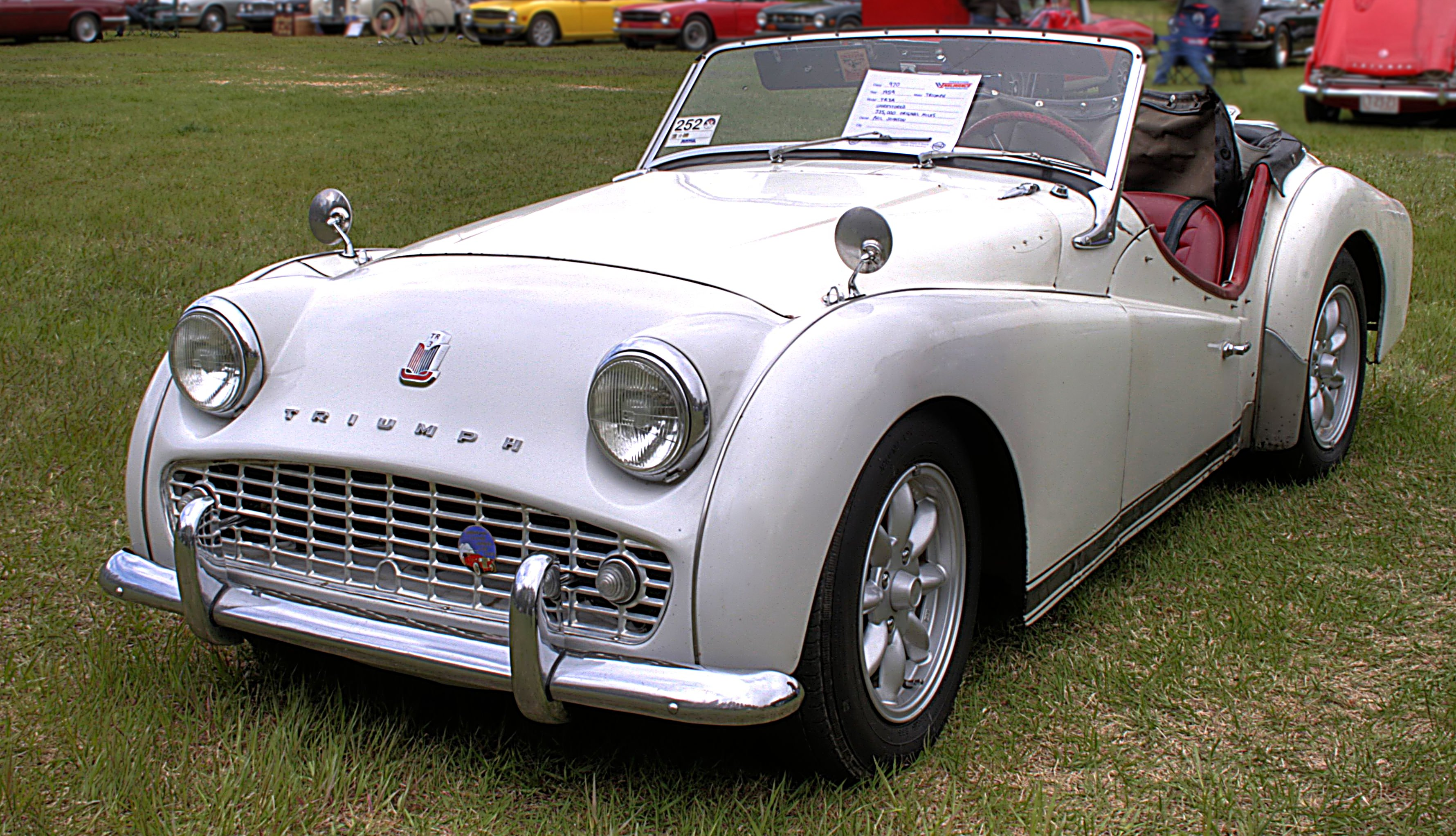 Triumph tr3a photo - 7