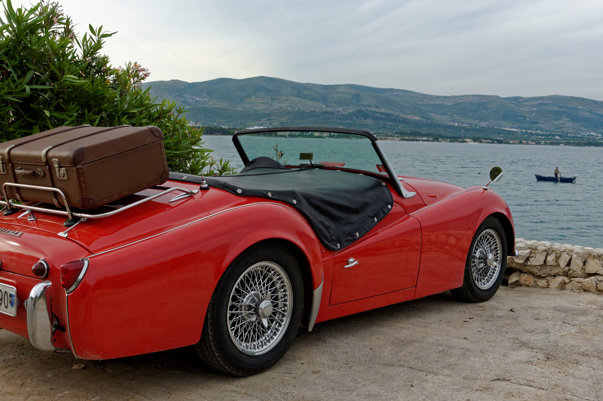 Triumph tr3a photo - 8