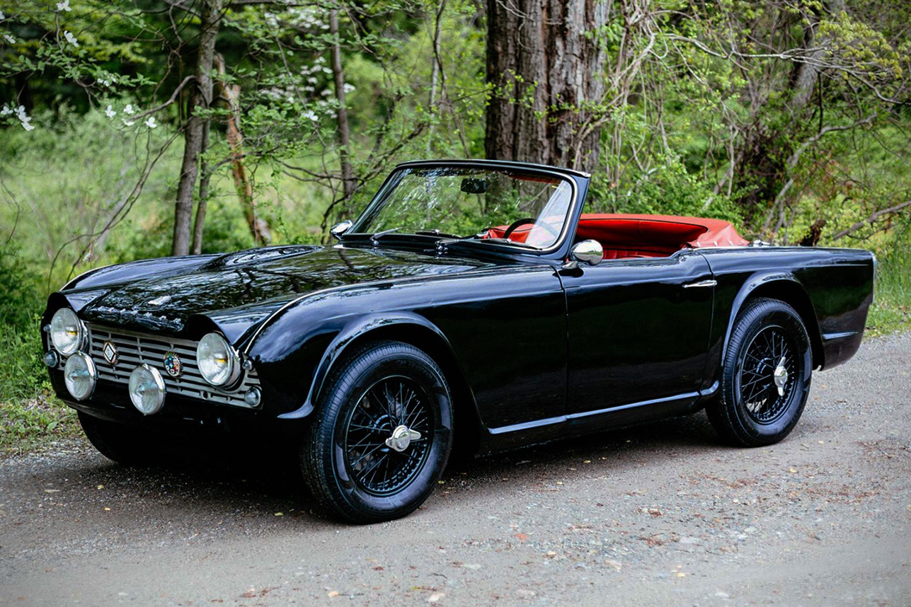 Triumph tr4 photo - 9