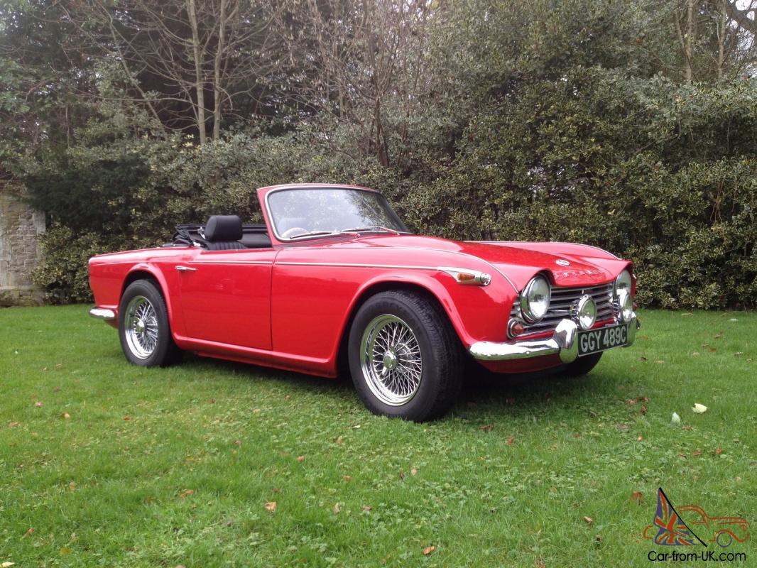 Triumph tr4a photo - 1
