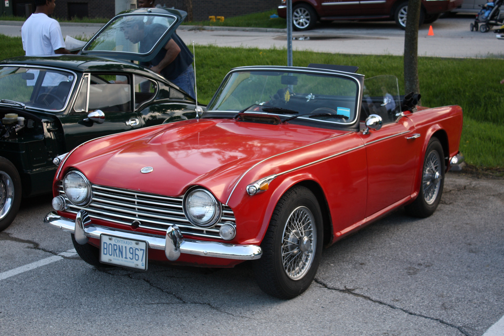 Triumph tr4a photo - 6
