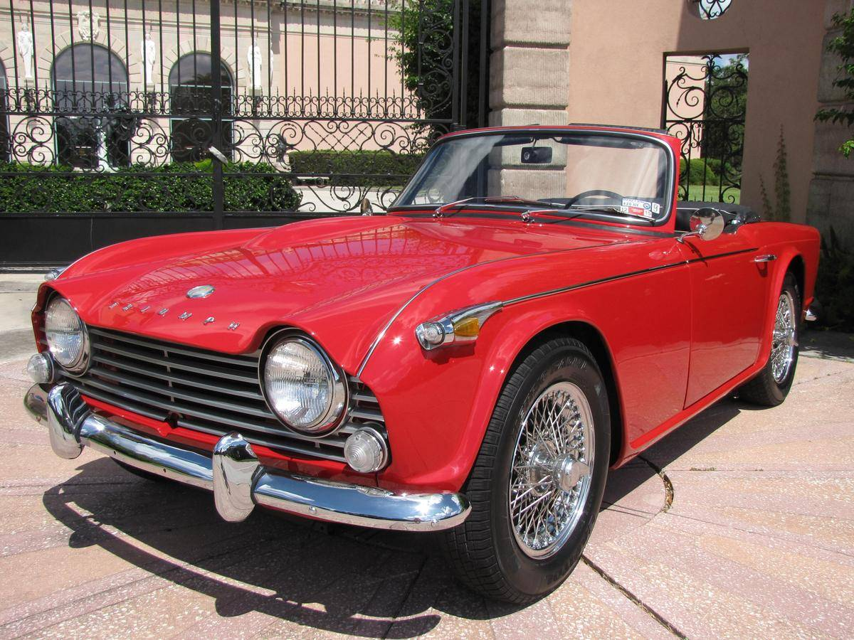 Triumph tr4a photo - 8
