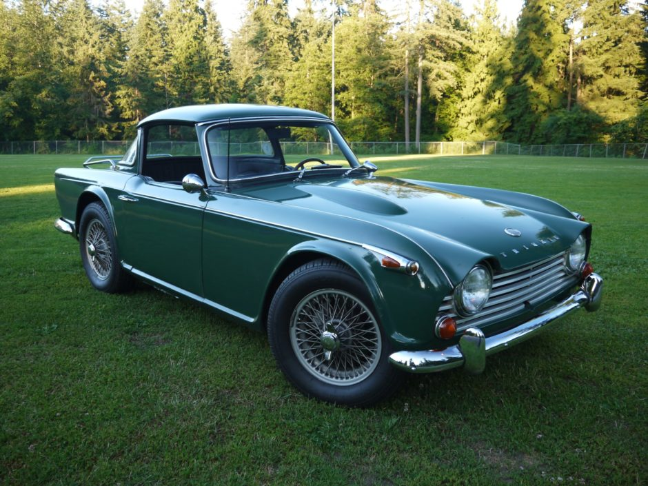 Triumph tr4a photo - 9