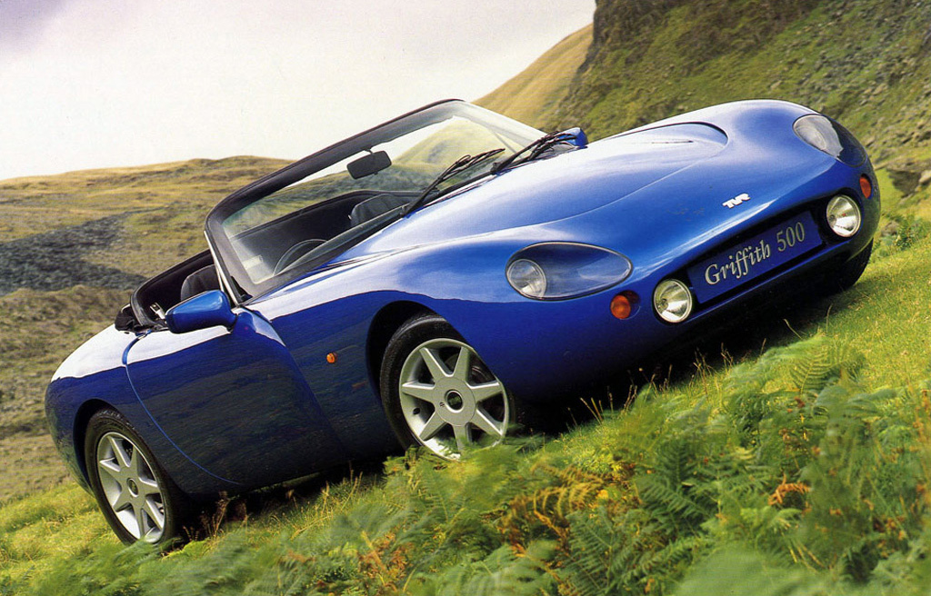 Tvr griffith photo - 1