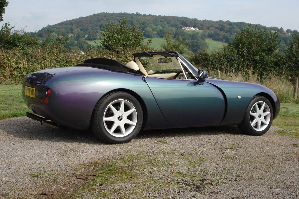 Tvr griffith photo - 3