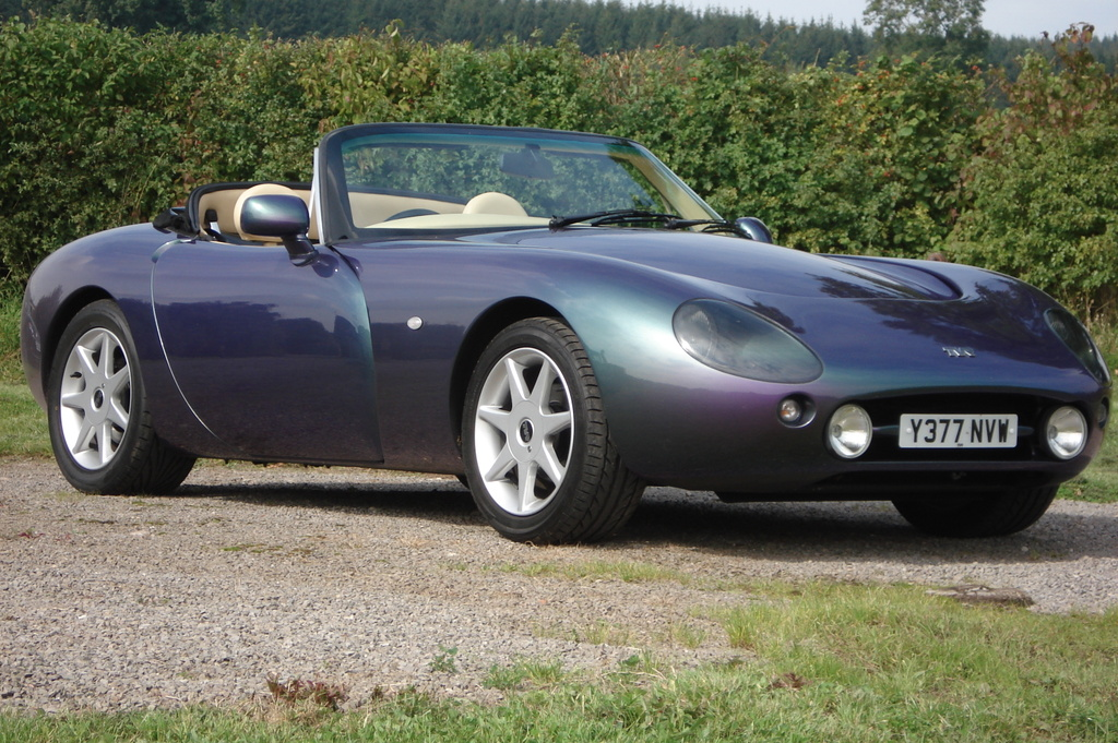 Tvr griffith photo - 4