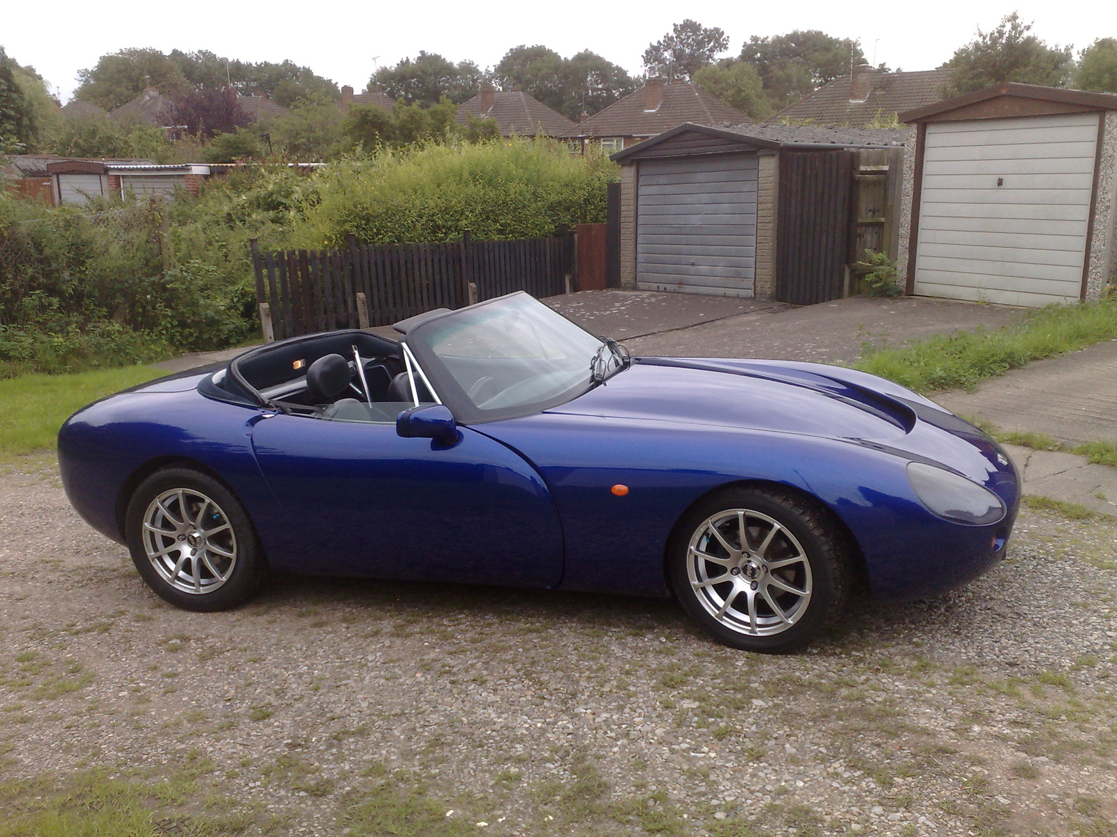 Tvr griffith photo - 6