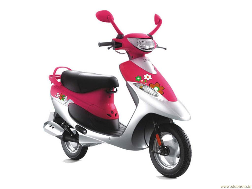 Tvs scooty photo - 1