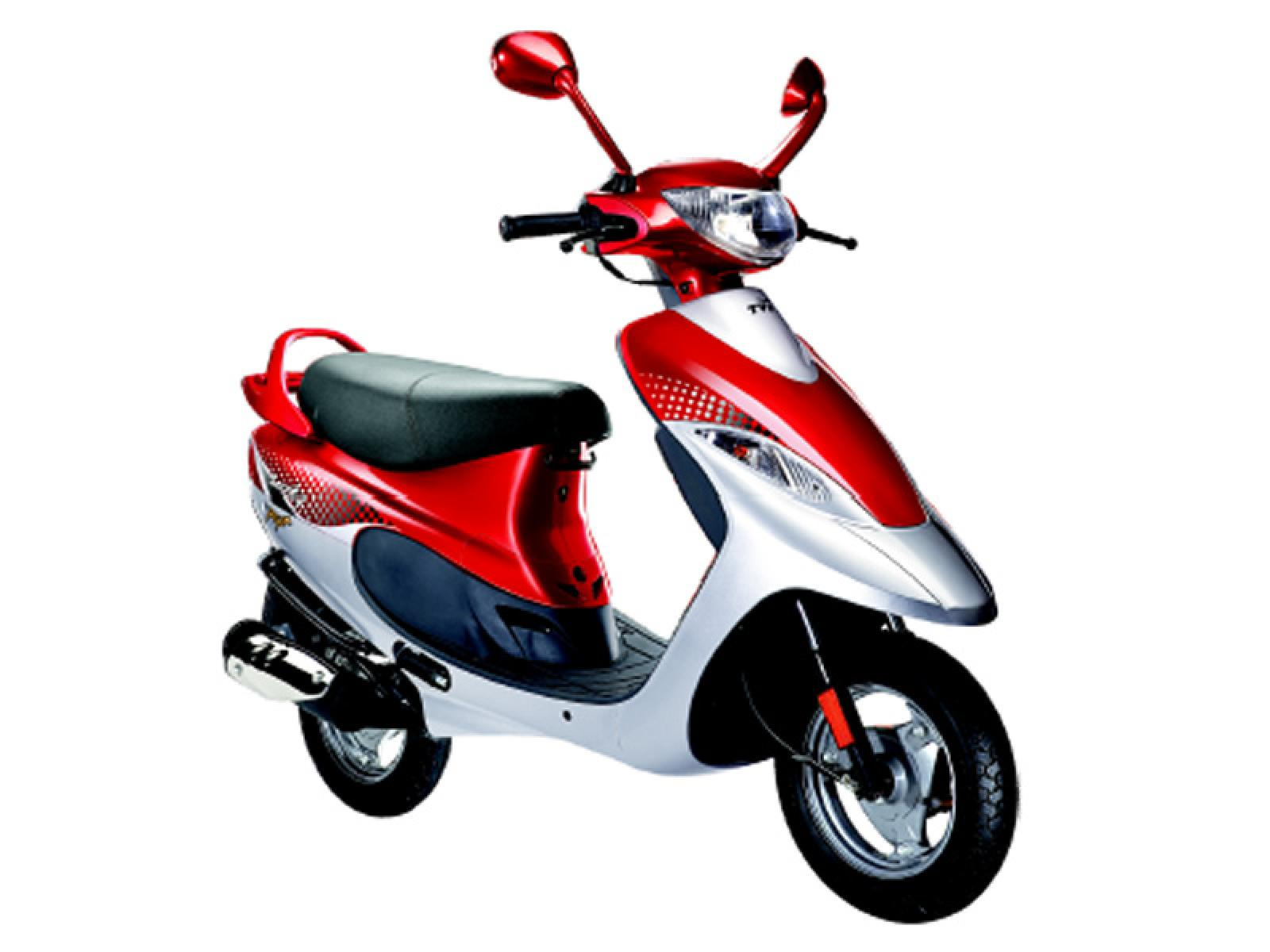 Tvs scooty photo - 2