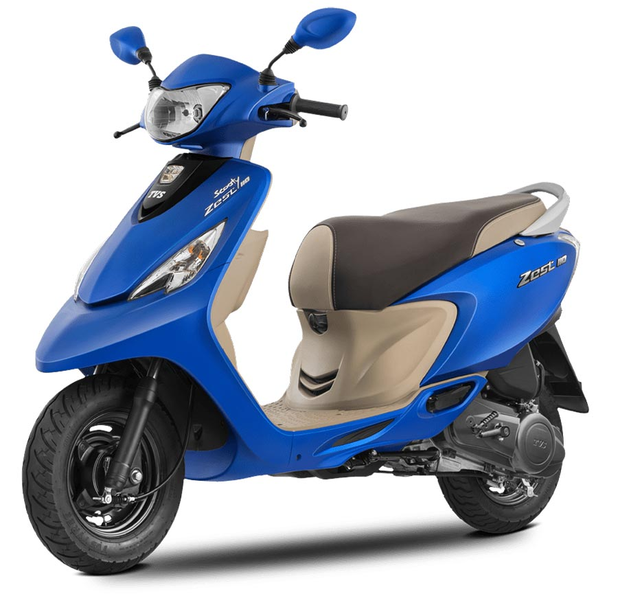 Tvs scooty photo - 4