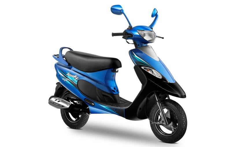 Tvs scooty photo - 5