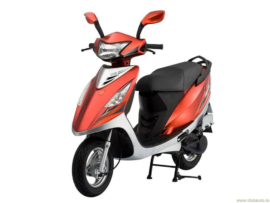 Tvs scooty photo - 6