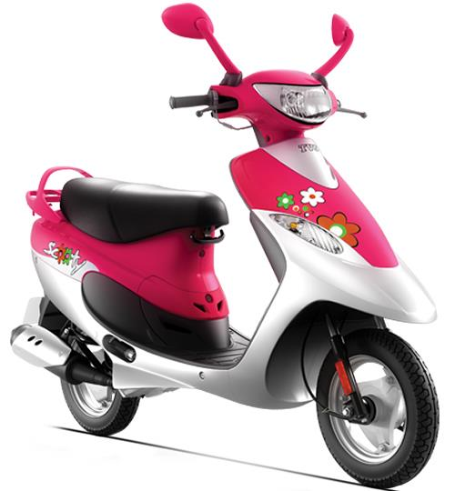 Tvs scooty photo - 7
