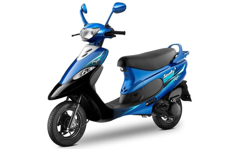 Tvs scooty photo - 9