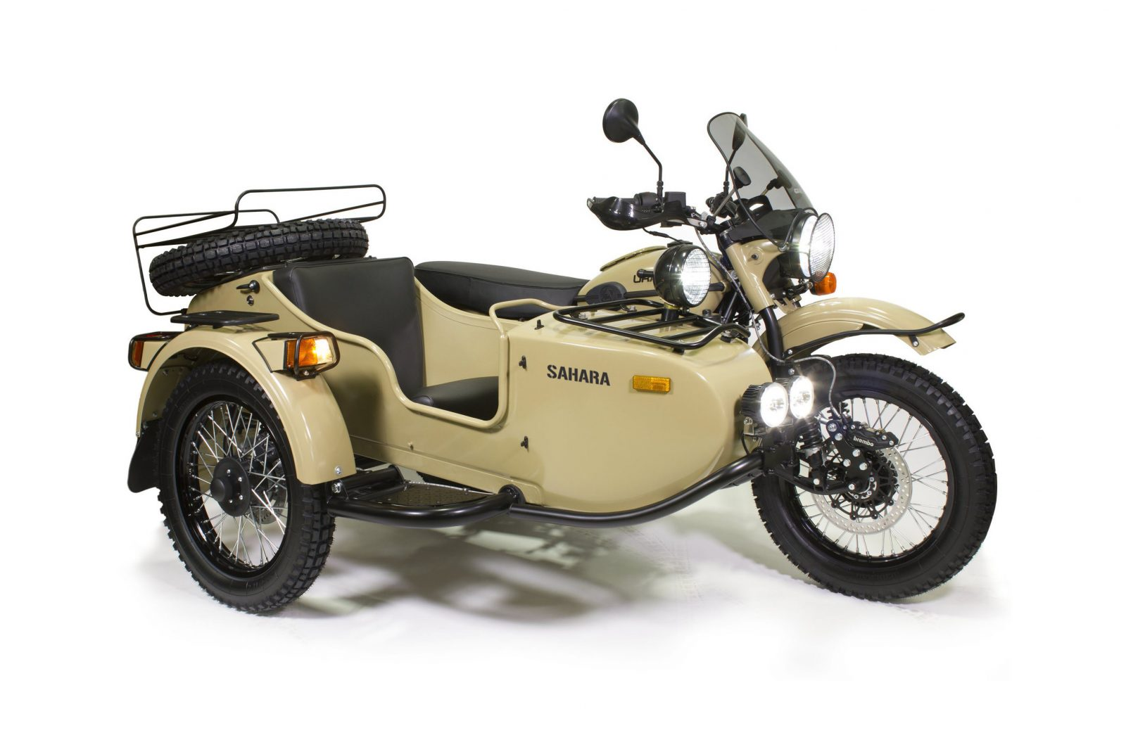 Ural sidecar) photo - 1