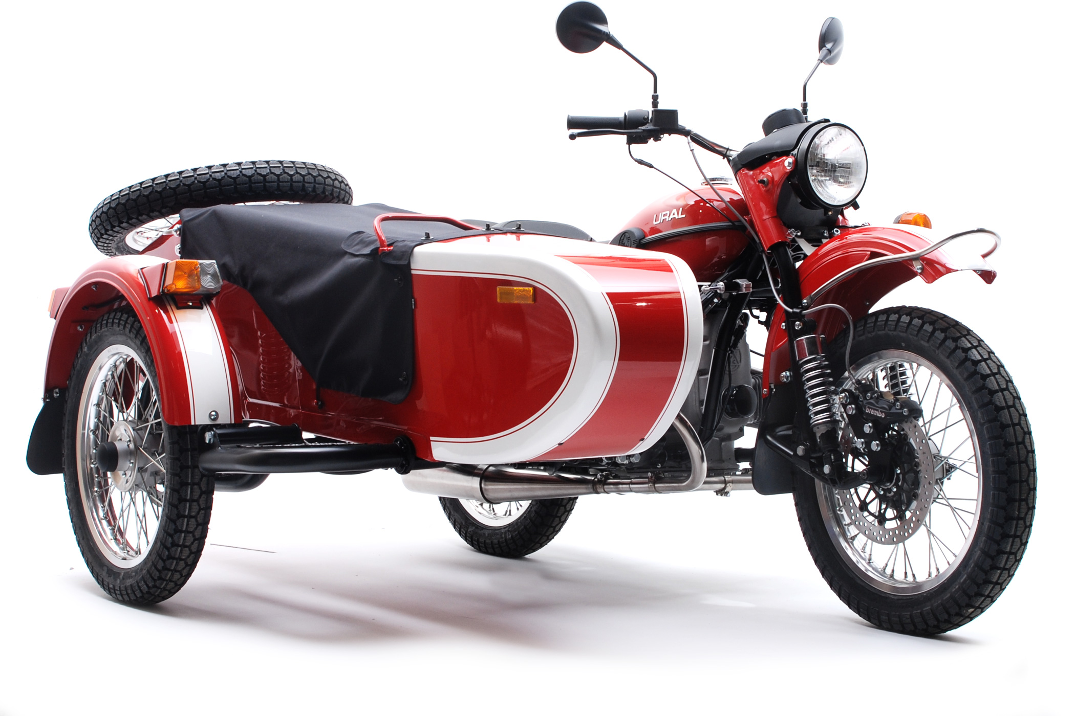Ural sidecar) photo - 5