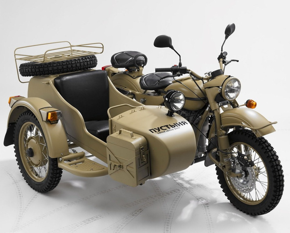 Ural sidecar) photo - 6