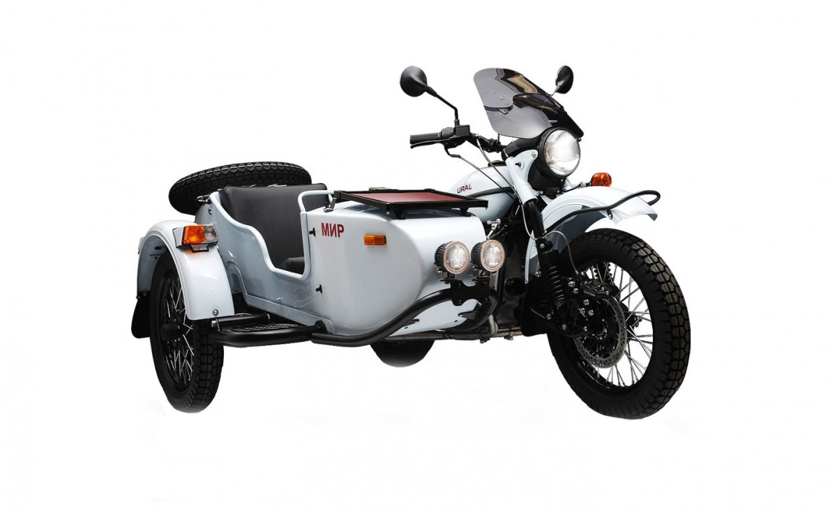 Ural sidecar) photo - 7