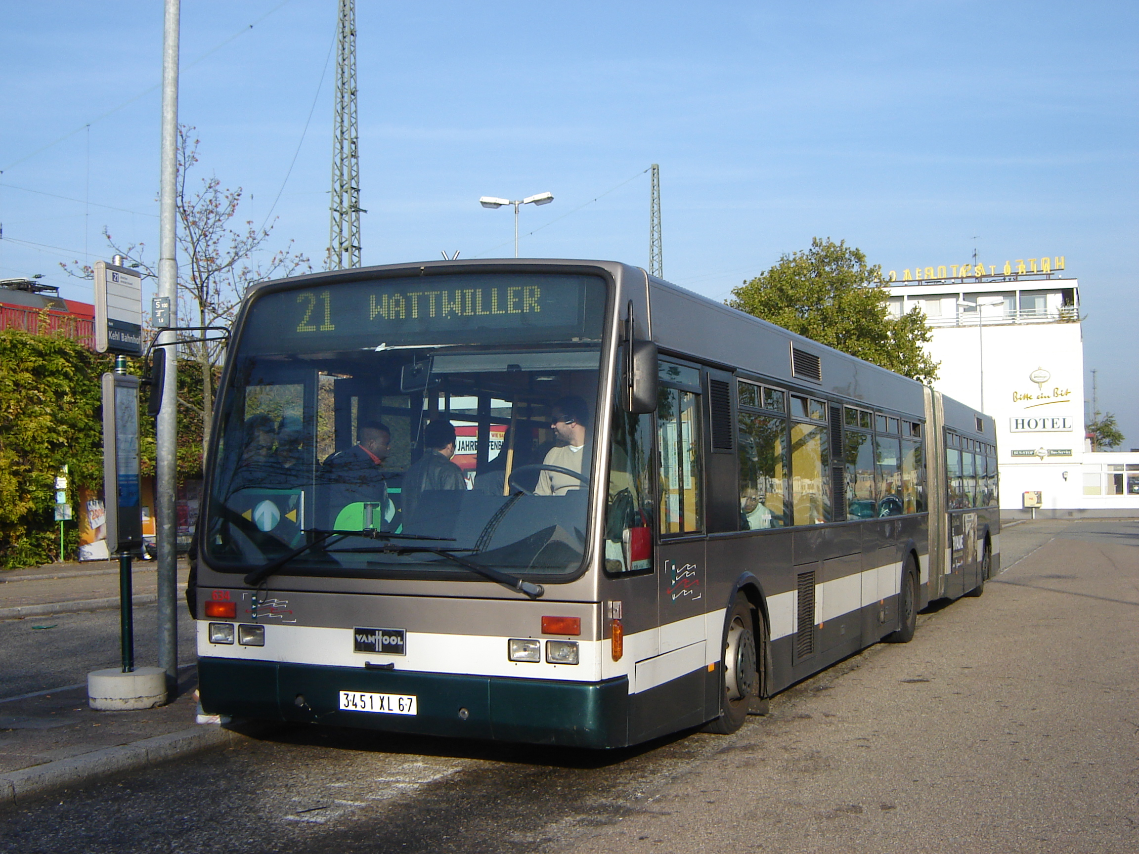 Van hool ag300 photo - 10