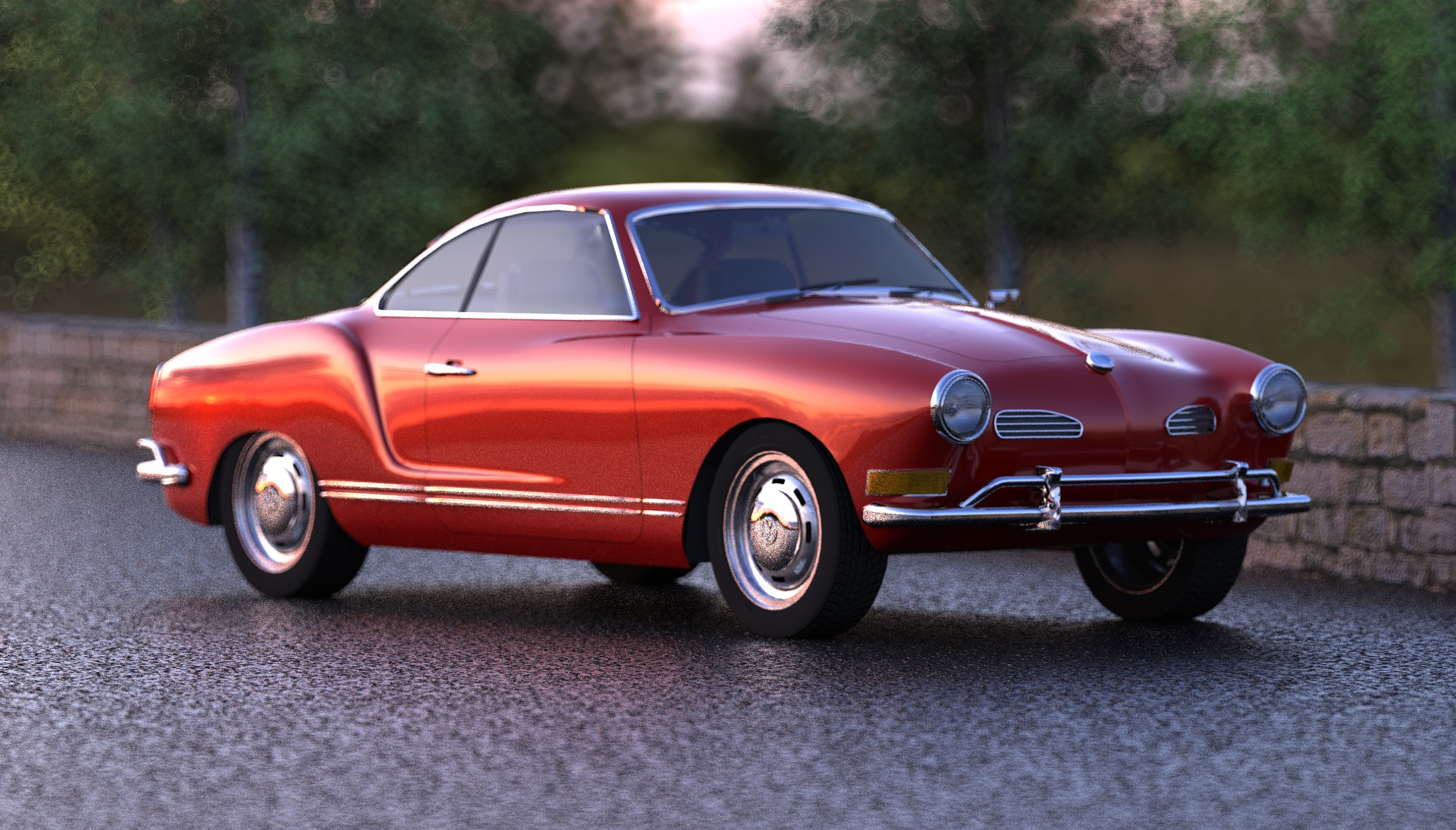 Volkswagen karmann photo - 7