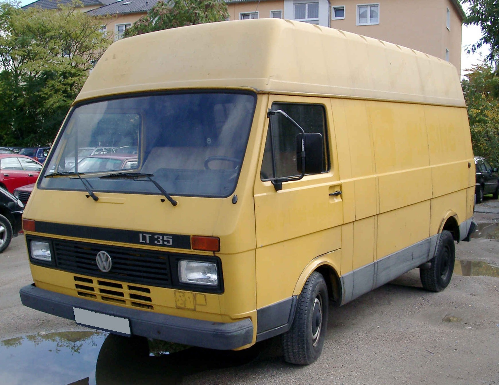 Volkswagen lt35 photo - 2