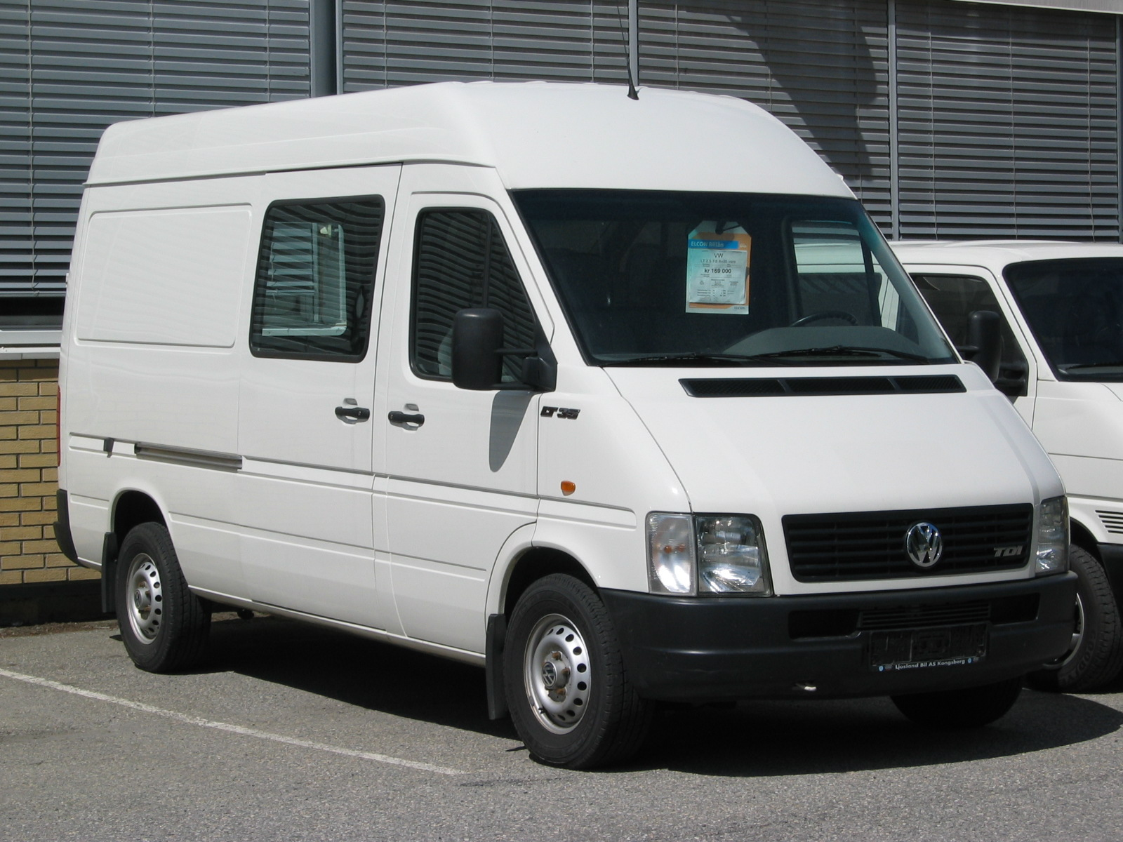 Volkswagen lt35 photo - 3