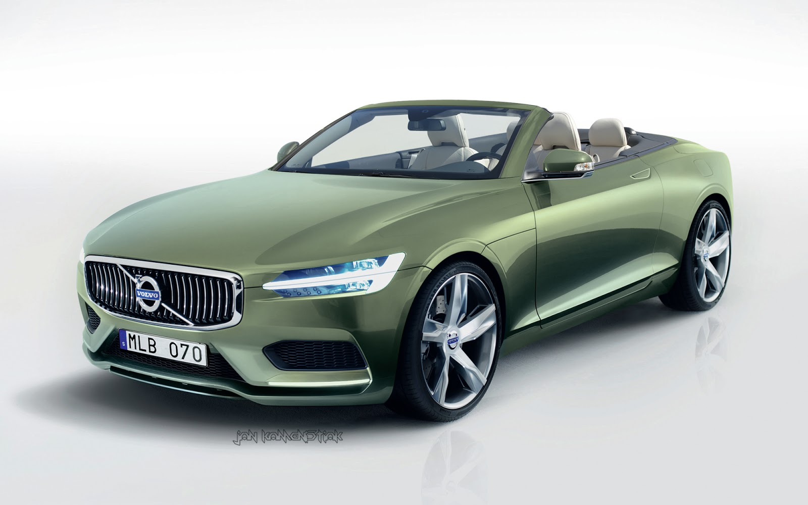 Volvo cabriolet photo - 1
