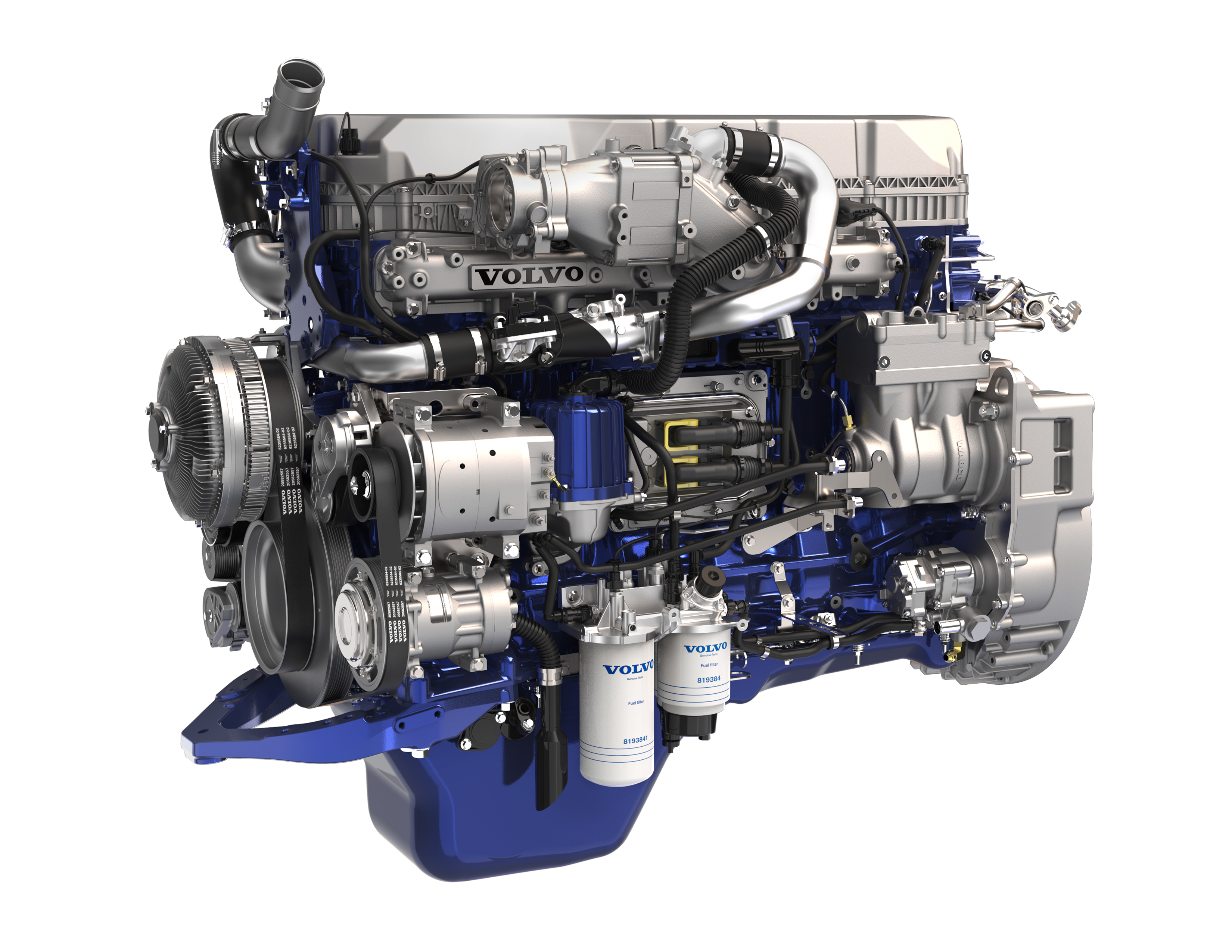 Volvo engine photo - 2