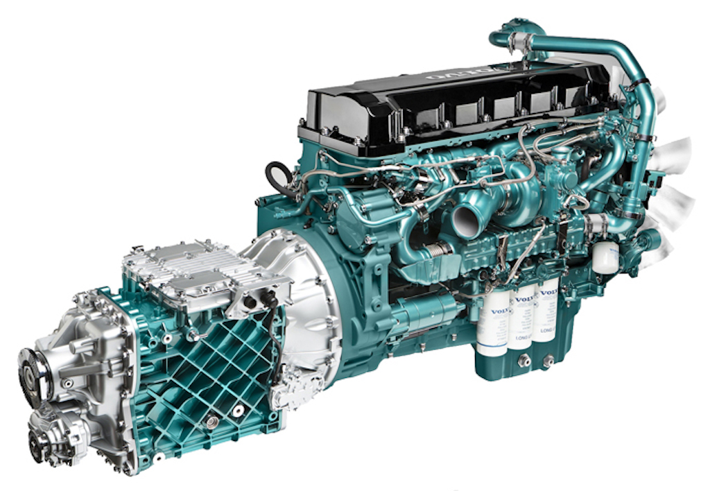 Volvo engine photo - 8
