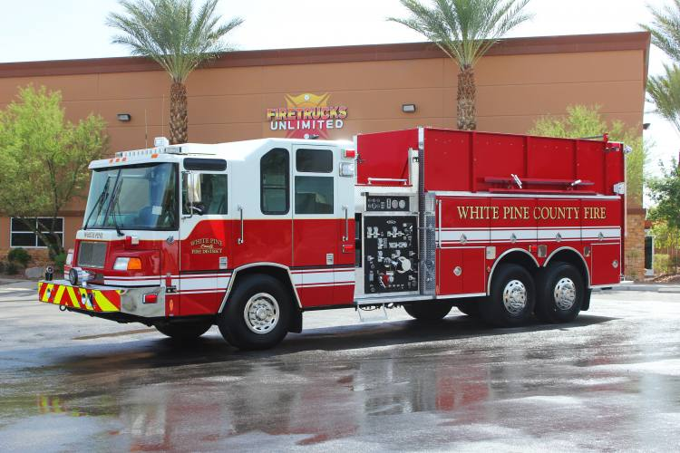 White pumper photo - 3