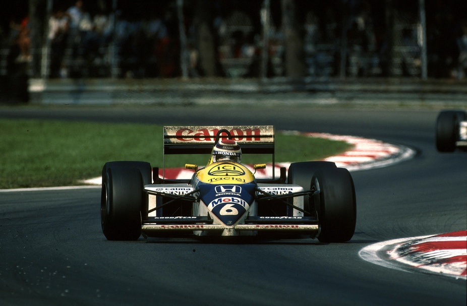Williams fw11 photo - 10