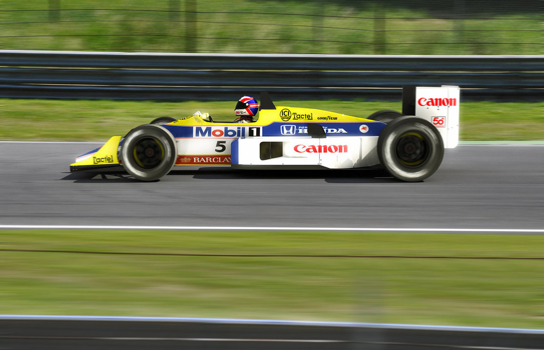Williams fw11 photo - 4
