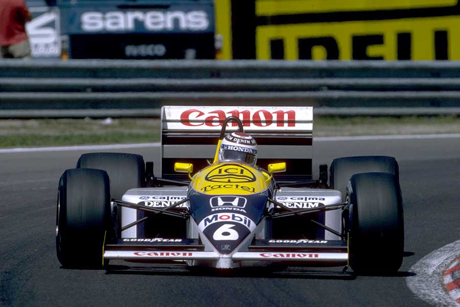 Williams fw11 photo - 5