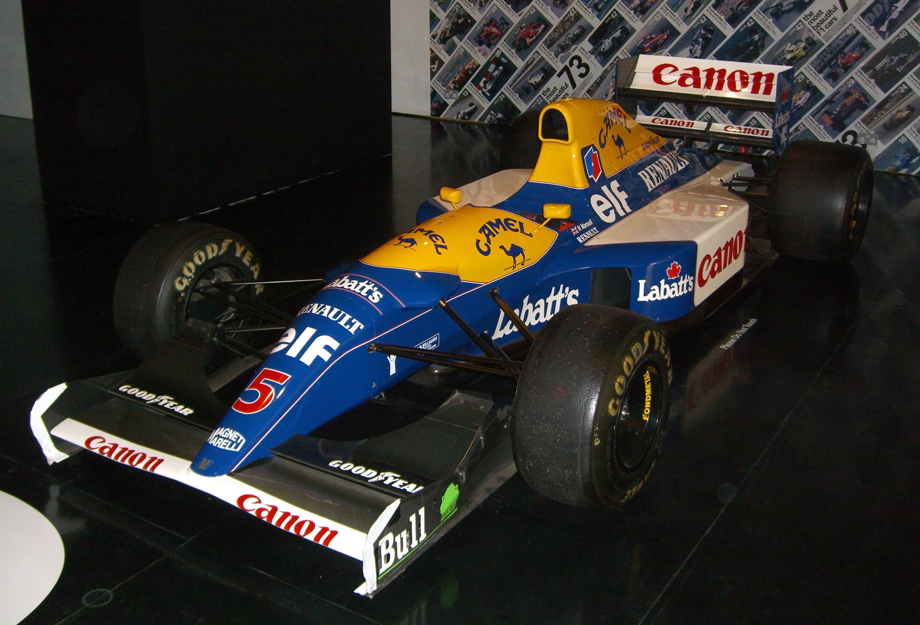 Williams fw14b photo - 1