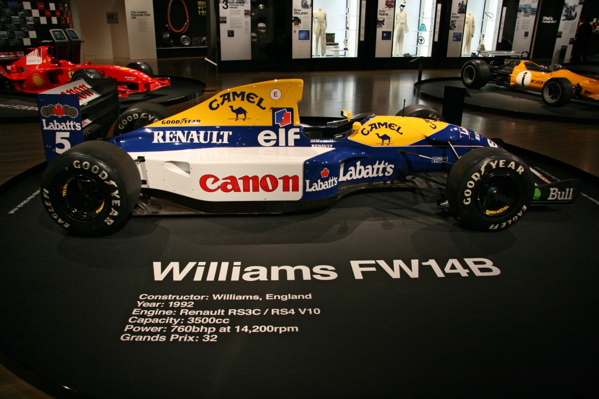 Williams fw14b photo - 10