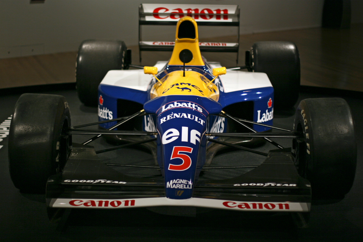 Williams fw14b photo - 2
