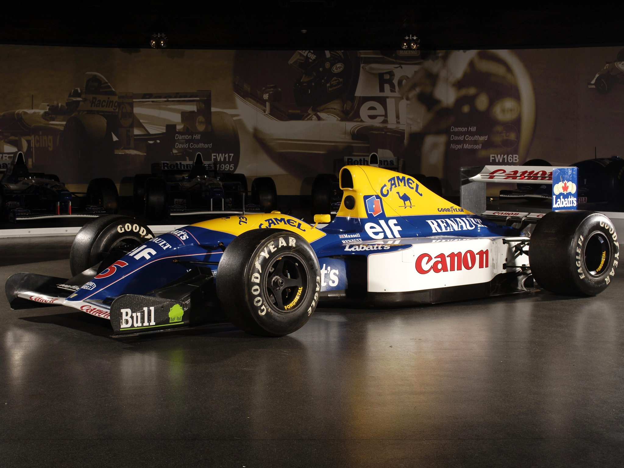 Williams fw14b photo - 3