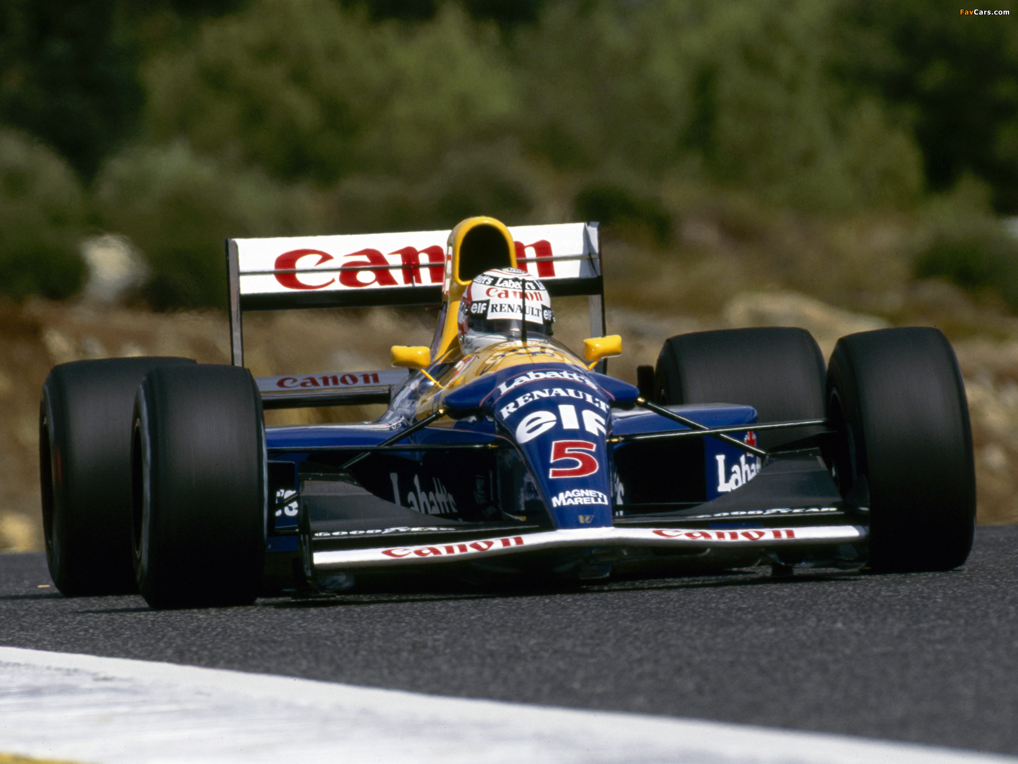 Williams fw14b photo - 4