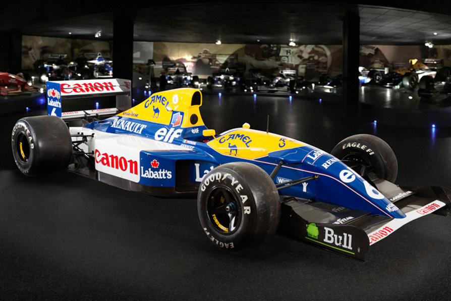 Williams fw14b photo - 6