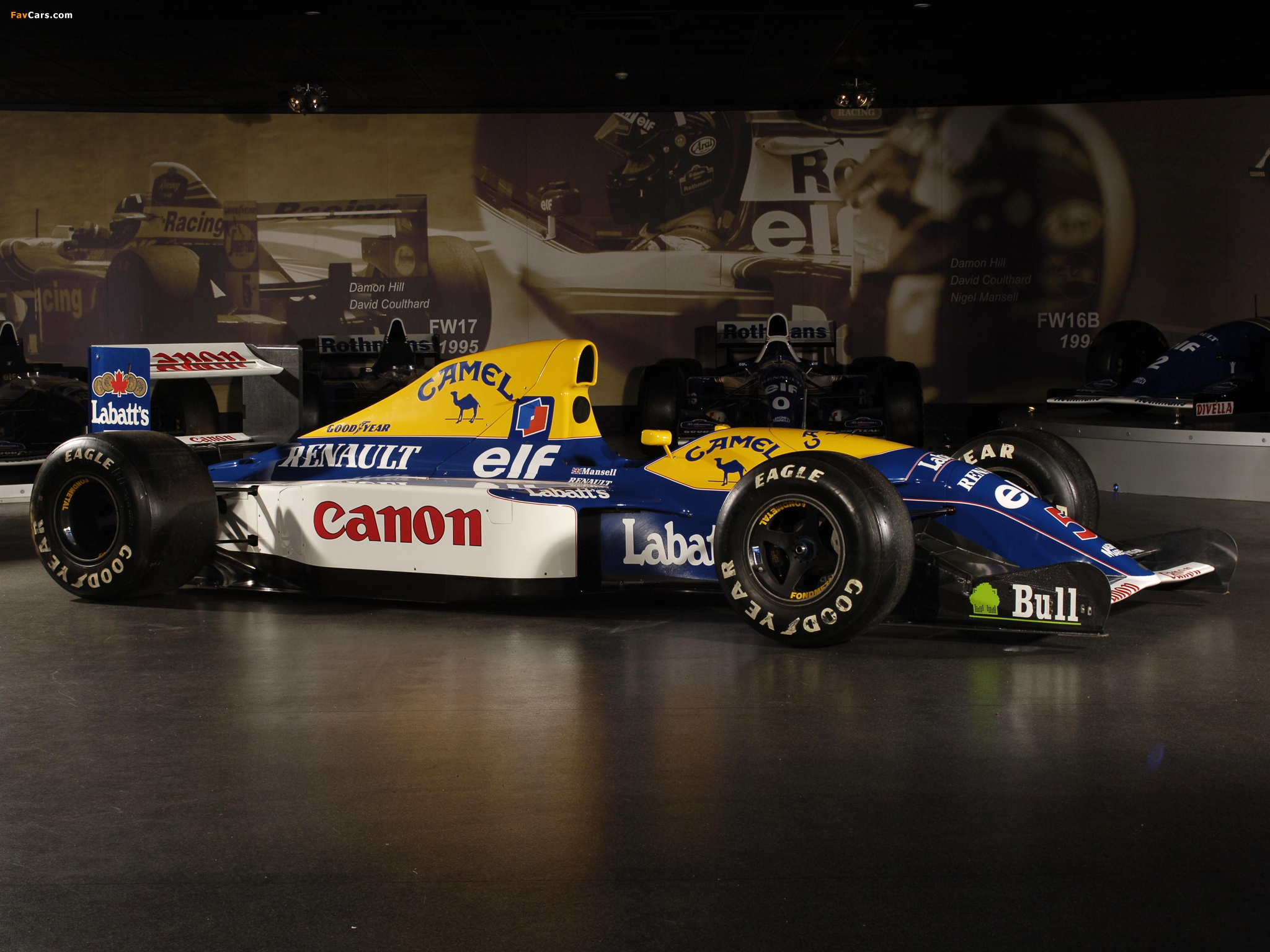 Williams fw14b photo - 7