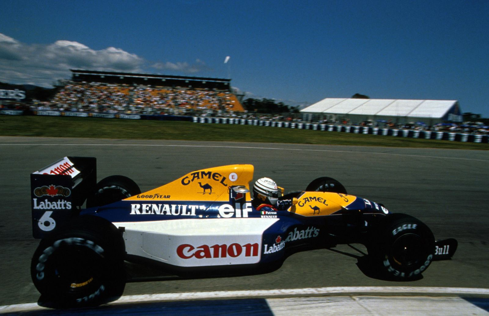 Williams fw14b photo - 8