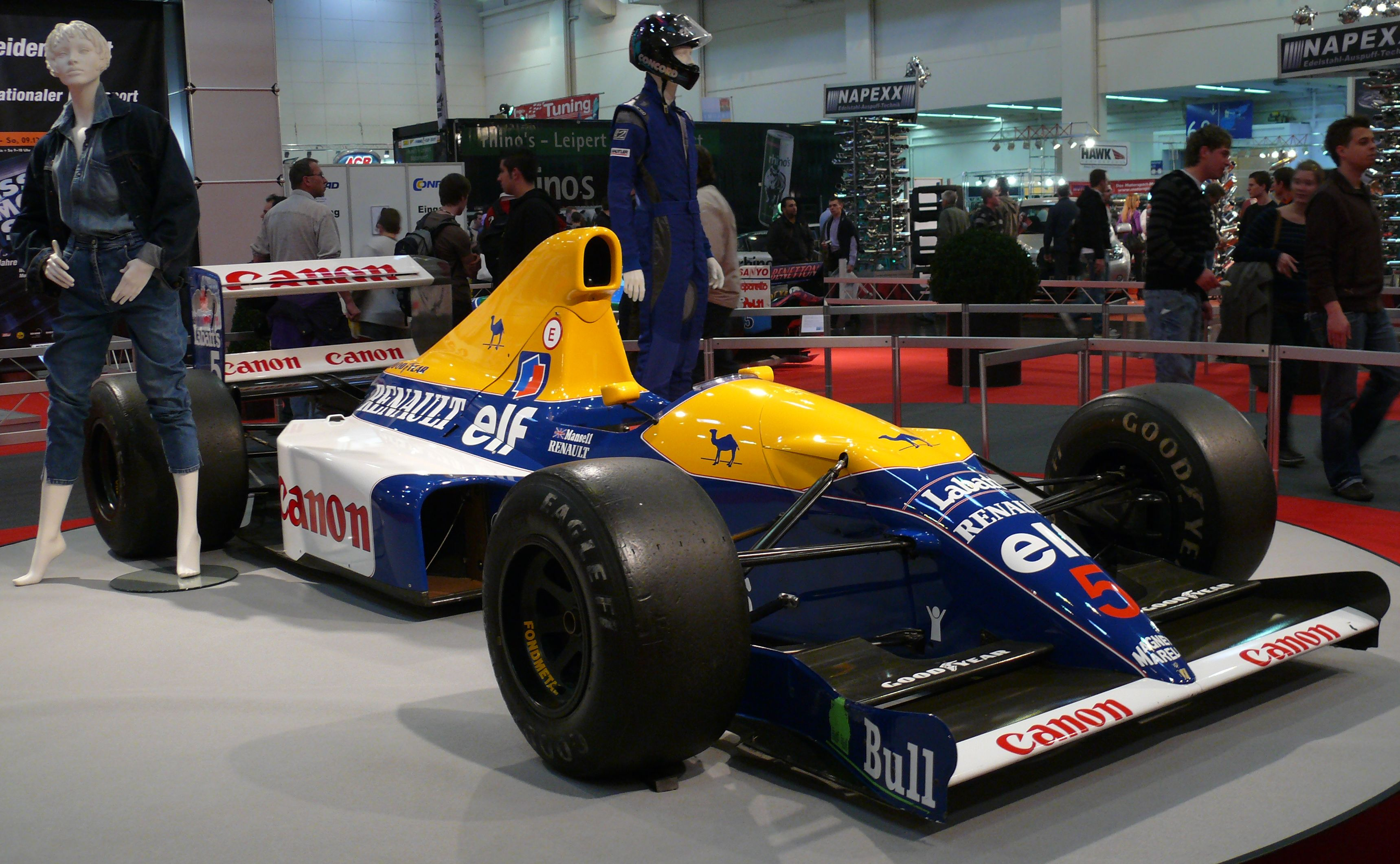 Williams fw14b photo - 9