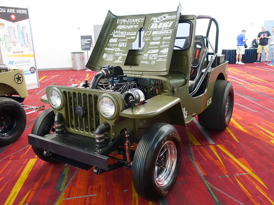 Willys dragster photo - 2