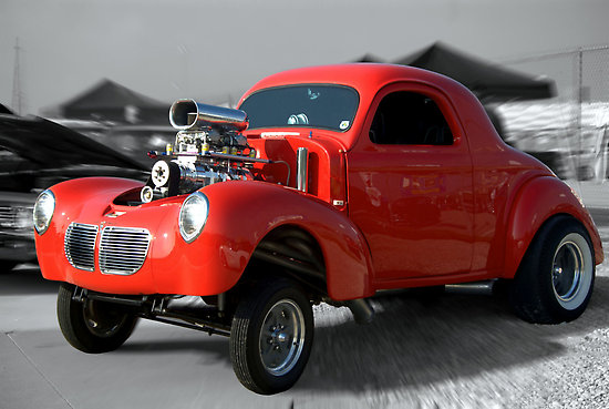 Willys dragster photo - 6