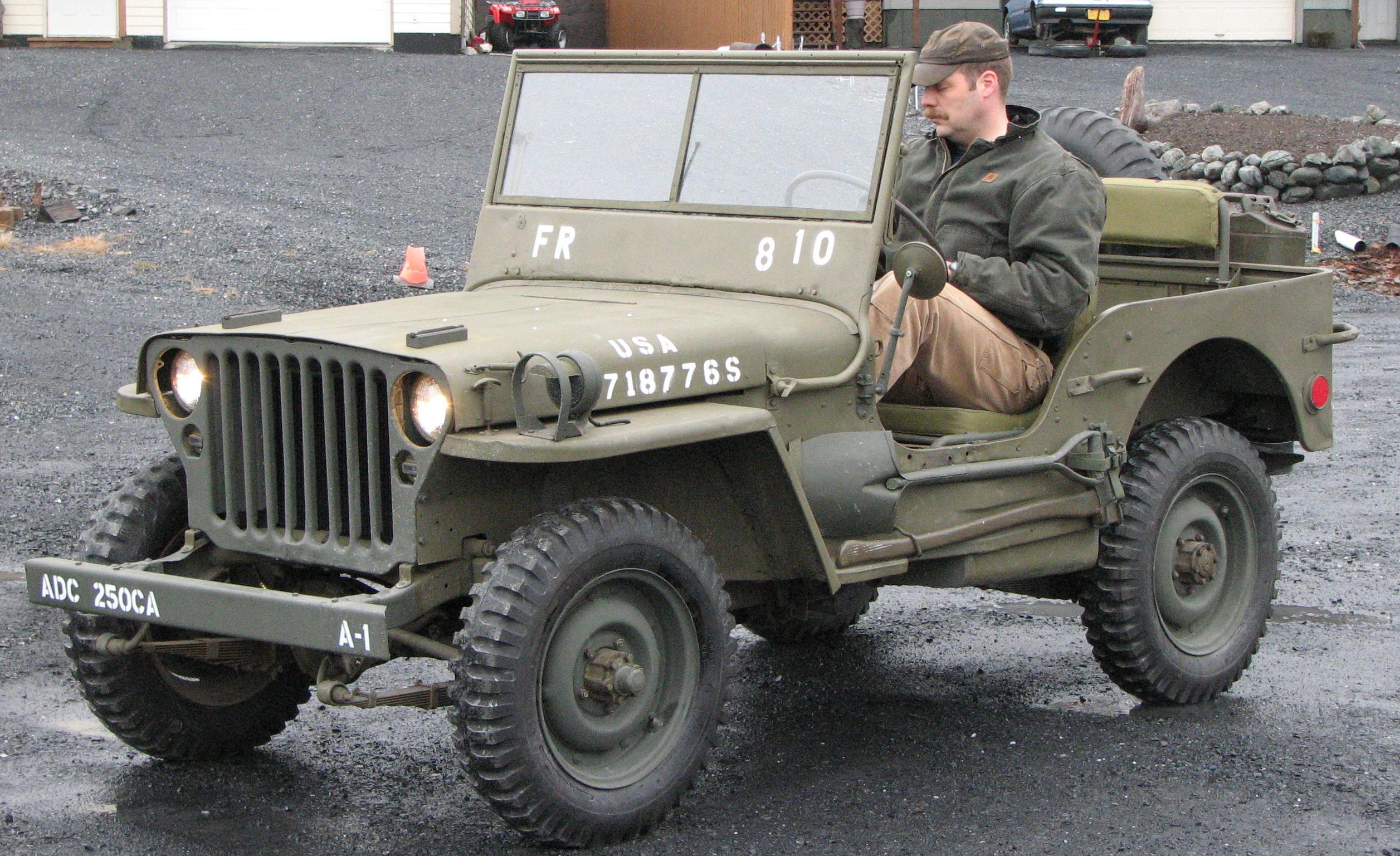 Willys jeep photo - 1