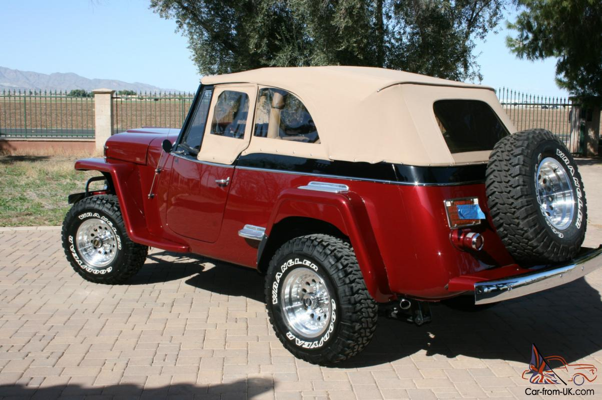 Willys jeepster photo - 3