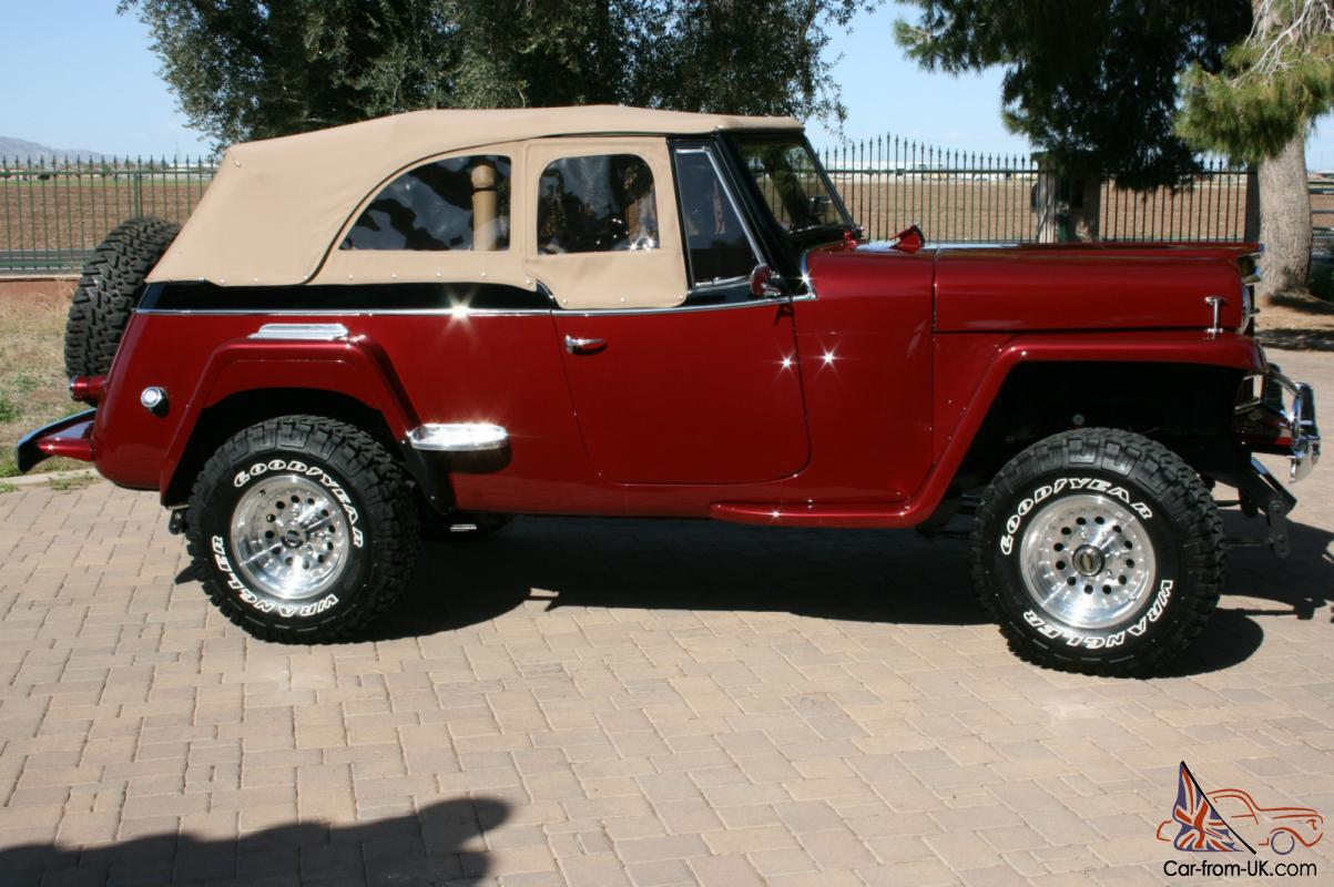 Willys jeepster photo - 5
