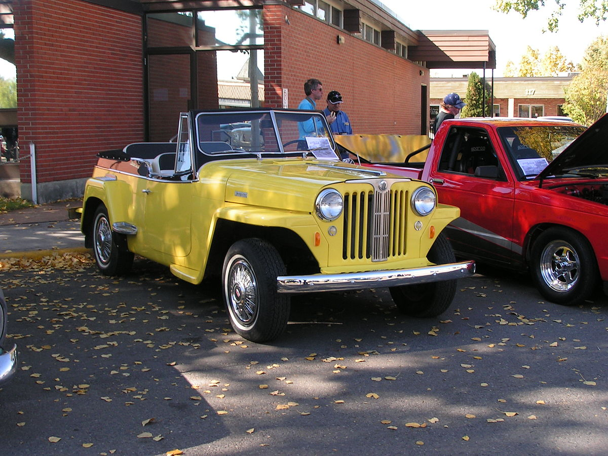 Willys jeepster photo - 7